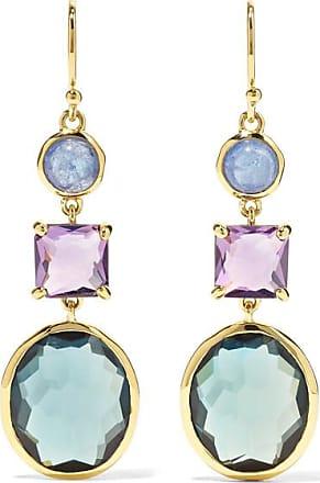 Ippolita Rock Candy 18-karat Gold Multi-stone Earrings
