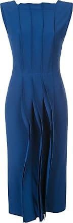 Jason Wu Vestido midi Cady - Azul