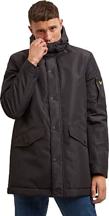 Lyle & Scott Lyle and Scott Mens Technical Parka - S - Check Out Our New Added Products! True Black