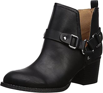 Madden Girl Womens FINIAN Ankle Boot, Black Paris, 6.5 M US