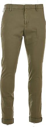 Dondup Fashion Man UP235LS0002PTDDU633 Green Cotton Pants | Spring Summer 20