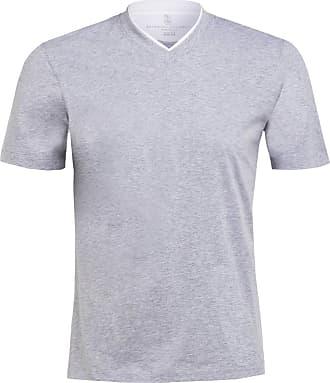 Brunello Cucinelli T-Shirt - HELLGRAU MELIERT
