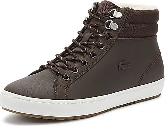 Lacoste Straightset Thermo 419 1 Mens Brown Boots-UK 6 / EU 39.5