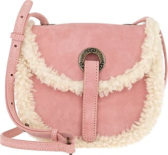 UGG Heritage Crossbody Bag Suede LA Sunset Umhängetasche rosa