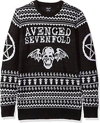 Fea Avenged Sevenfold Mens Ugly Christmas Sweater, Black, X-Large