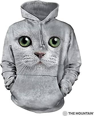 The Mountain Green Eyes Face Hsw Adult Hoodie, Grey, 2XL