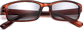 morefaz Slim Sun Readers RETRO Vinatge +1.0 +1.5 +2.0 +2.5 +3.0 +4.0 READING SUNGLASSES GLASSES HOLIDAY Mens Womens MFAZ Morefaz Ltd (+4.00 Sun, Brown)