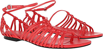 3.1 Phillip Lim Sandals - Lily Flat Sandal Corallo - red - Sandals for ladies