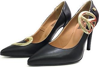79b074472a2 Moschino Womens Court Shoes Black Black Black Size  4