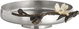 Michael Aram Dogwood Low Dish - Stainless Steel
