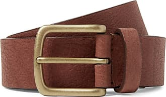 Anderson's 3cm Chocolate Full-grain Leather Belt - Chocolate