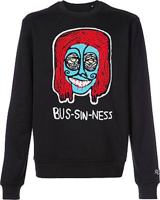 Haculla Bus-sin-ness sweatshirt - Black