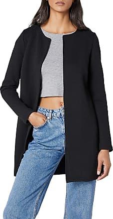 Vila Womens VINAJA NEW LONG JACKET - NOOS Blazer, Black, 34 (Manufacturer size: X-Small)