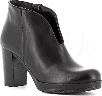 Generico Generic Made in Italy Leather Boot with Zip - Black Black Size: 8 UK
