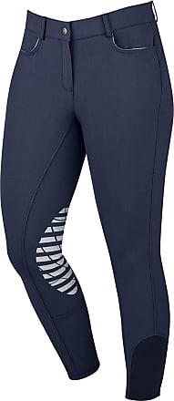 Dublin Performance Flex Knee Patch Riding Tights Beige Ladies 8//26 Inch
