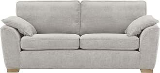 SLF24 Rubens 3 Seater Sofa-Chelsey silver