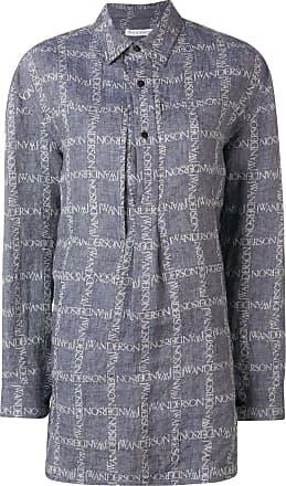 J.W.Anderson Camisa com logo - Azul