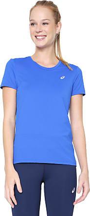 Asics Camiseta Asics W Core Running Pa Ss Tee Azul