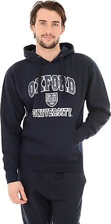 Oxford University Official Licensed Printed Pullover Hoodie Cotton Blend Souvenir Gifts Unisex Mens Womens + One Free T-Shirt (XX-Large, Navy)