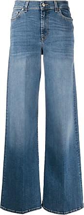 7 For All Mankind Calça jeans flare Lotta Soho - Azul