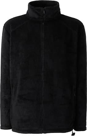 Fruit Of The Loom Mens Outdoor Fleece Jacket Black M