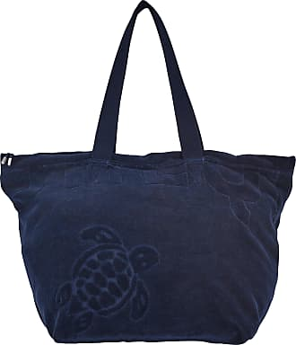 Vilebrequin Accessories - Big terry cloth Beach Bag Jacquard Solid - BEACH BAG - BARNEY - Blue - OSFA - Vilebrequin