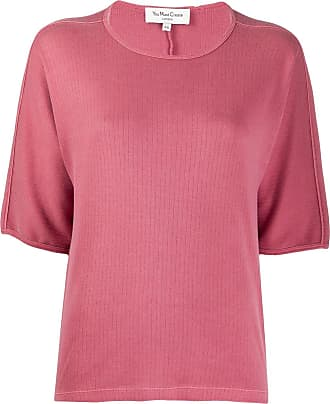 Ymc You Must Create ribbed loose-fit cotton T-shirt - PINK