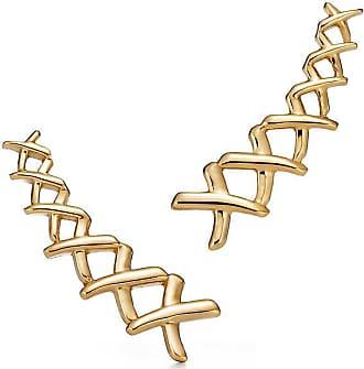 Tiffany & Co. Palomas Graffiti X climber earrings in 18k gold