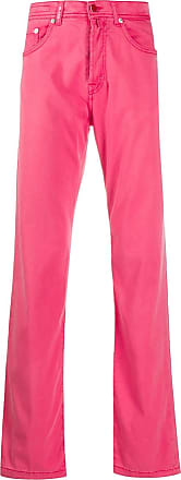 Kiton regular-fit jeans - PINK