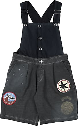 Diesel DUNGAREES - Short dungarees on YOOX.COM
