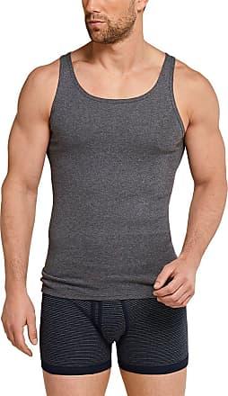 Schiesser Mens Original Classics Shirt 0/0 Undershirt, Grey (Grey Blend 202), XXXX-Large