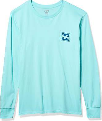 Billabong Mens Warchild Long Sleeve Tee T-Shirt, Spearmint, Large