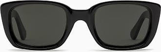 Retro Superfuture Black Lira sunglasses