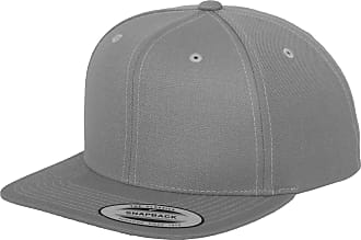Yupoong Mens The Classic Premium Snapback Cap (One Size) (Silver)
