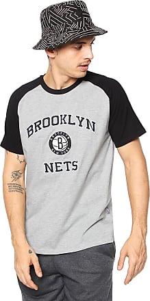 NBA Camiseta NBA Brooklyn Nets Cinza