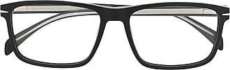 David Beckham Armação de óculos retangular DB 1020 - Preto