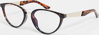 Quay Rumours blue light glasses in tort-Brown
