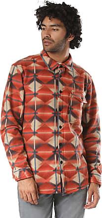 Billabong Furnace Bonded Long Sleeve Shirt in Red