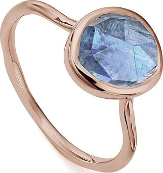 Monica Vinader Siren Stacking Kyanite ring - GOLD