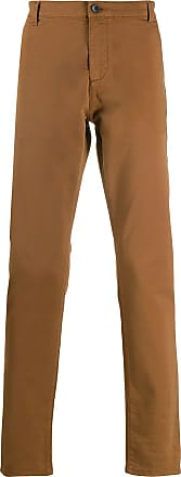 Zadig & Voltaire Pit embroidered logo chinos - Brown