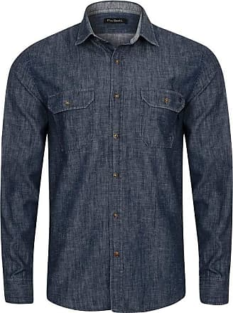 Pierre Cardin Camisa Casual Navy Jeans 6