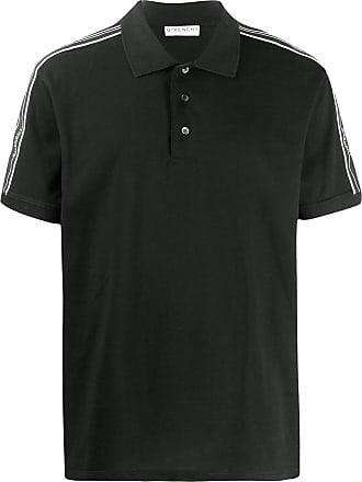 Givenchy Camisa polo com detalhe de logo - Preto