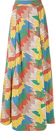 Amir Slama printed maxi skirt - Multicolour