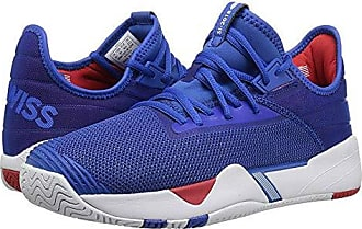 K-Swiss Mens SI-2018 Sneaker, Strong Blue/White/high-Risk red, 6.5 M US