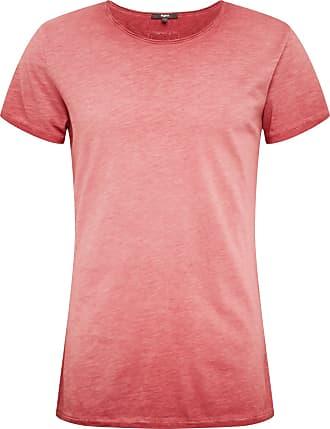 Tigha T-Shirt Slub bordeaux