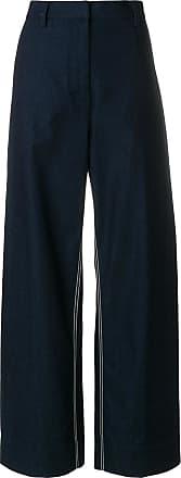 Cedric Charlier wide-leg jeans - Blue