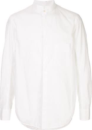 Ziggy Chen chest pocket shirt - White