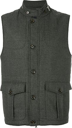 Eleventy cargo pocket gilet - Grey