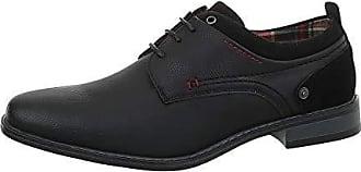 Ital-Design Herrenschuhe Business-Schuhe Budapester Stil Synthetik Schwarz  Gr. 43 64567a250a