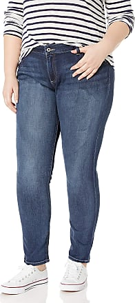 Lucky Brand Womens Plus Size Mid Rise Ginger Skinny Jean in Barrier, 18